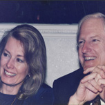 Karna and husband Dick Bodman